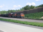 BNSF 965 and 7524